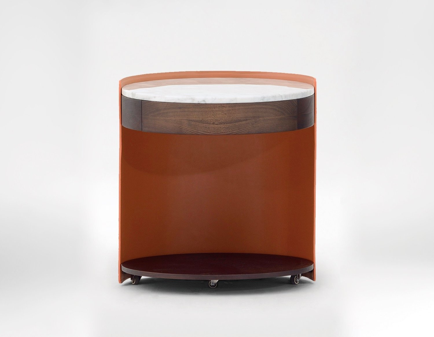Harmon Side table - Customisable, adaptable with optional storage draw.