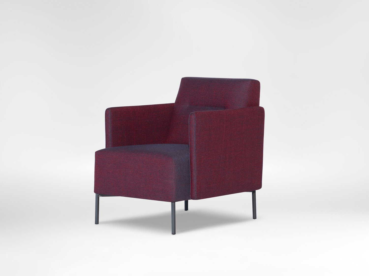 ease chair - Sleek arms and a refined base, Ease chair is polished and exquisite.