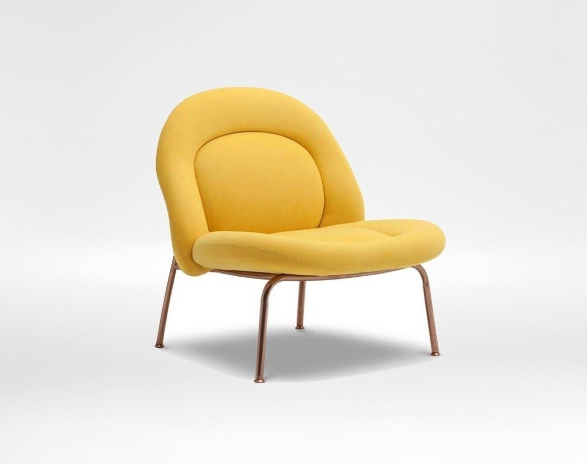 honey chair - Plush, whimsical, and inviting, The Honey Lounge Chair is an eye-catcher in any space.