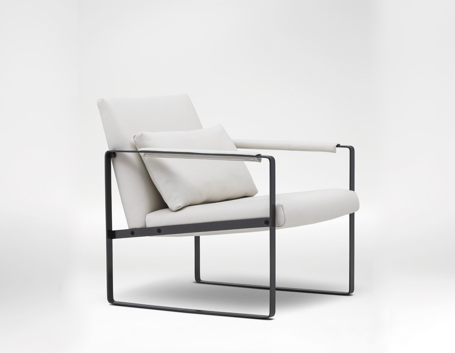 Leman Small Chair - The Leman Lounge Chair is a showroom favourite with comfortable, deep seating and striking design.
