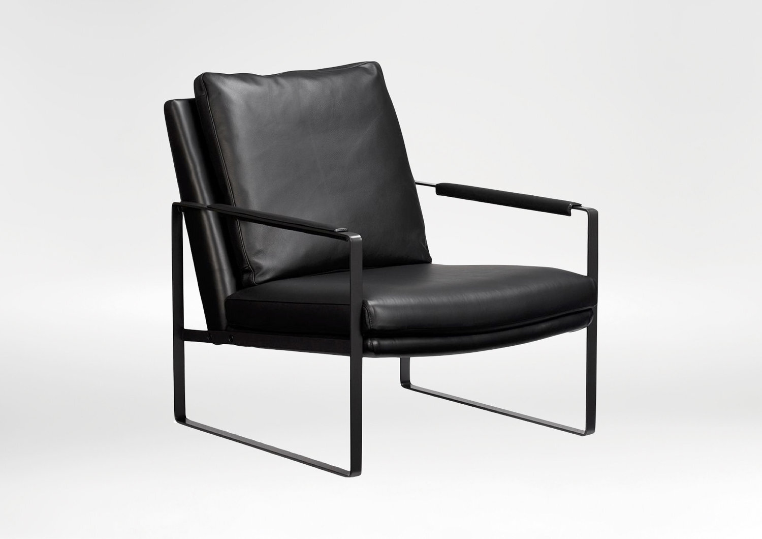 Leman chair - The Leman Lounge Chair is a showroom favourite with comfortable, deep seating and striking design.