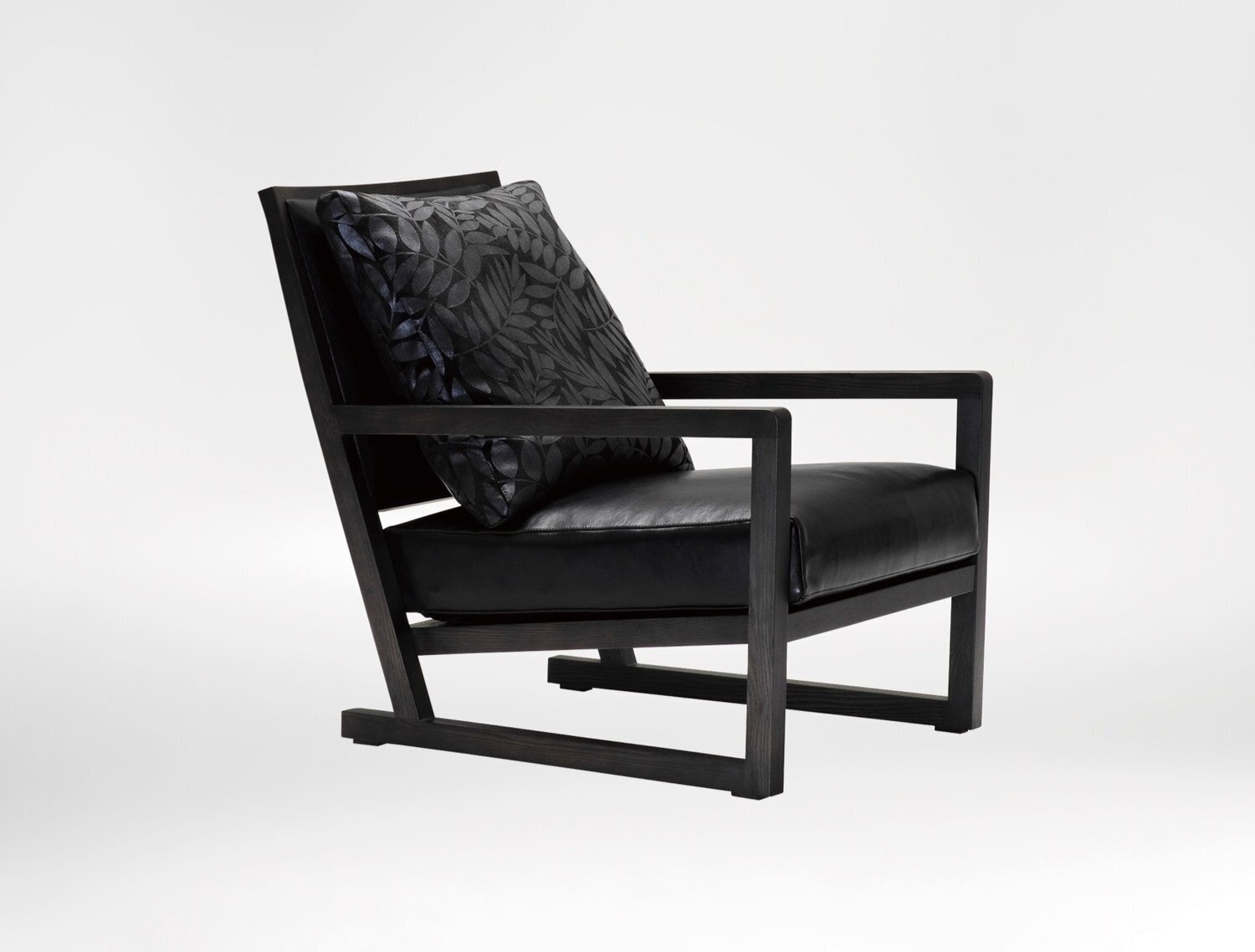 Simon Chair - Deep slanted seat cushion and sturdy armrests to offer immense comfort and support.