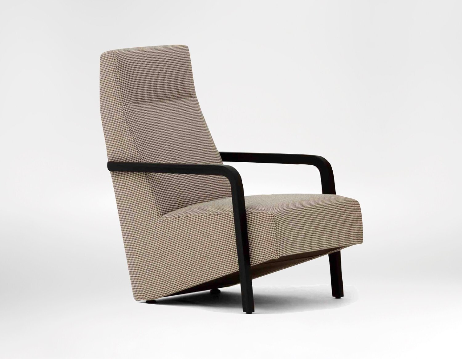 Vast chair - The ultimate in modern styling, The Vast Lounge Chair echoes a cantilevered design.