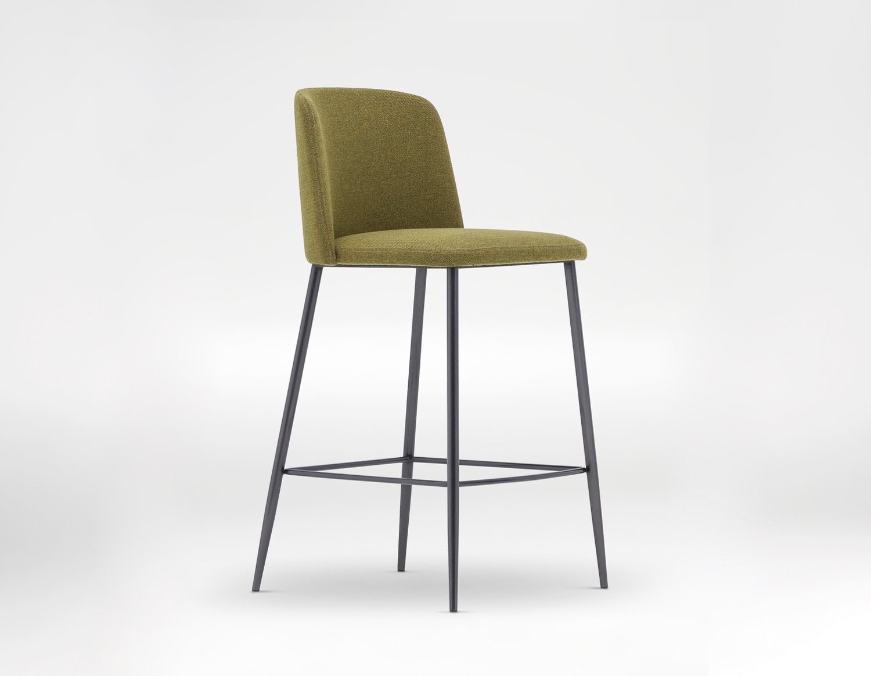 ballet bar chair - Ultra-slick and streamlined define the Ballet Bar Chair.