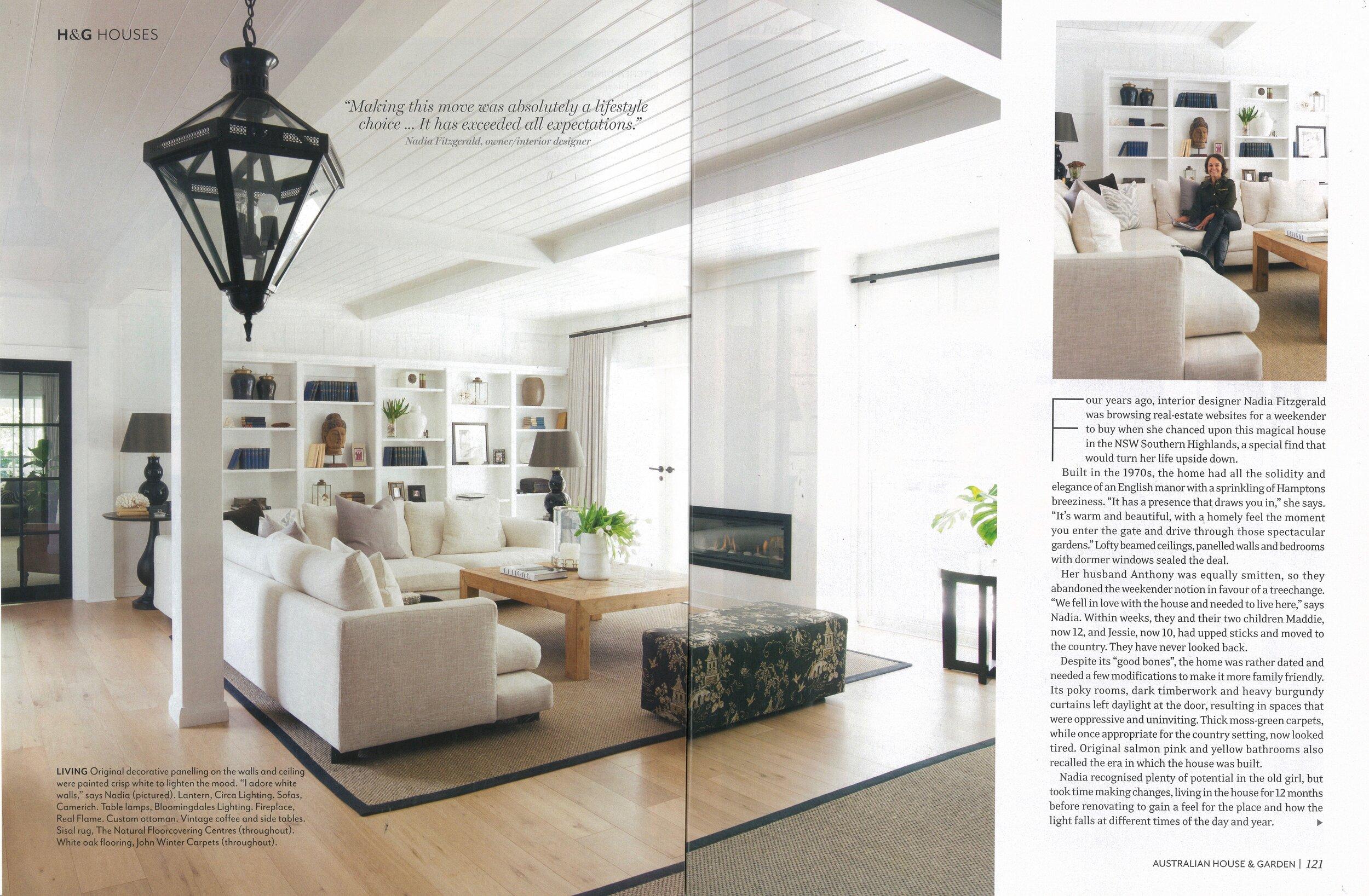 Lazytime Plus featured in Australian House & Garden