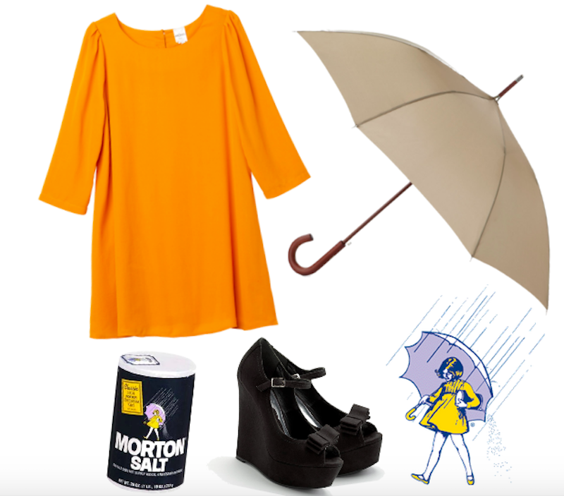 Morton Salt DIY Costume