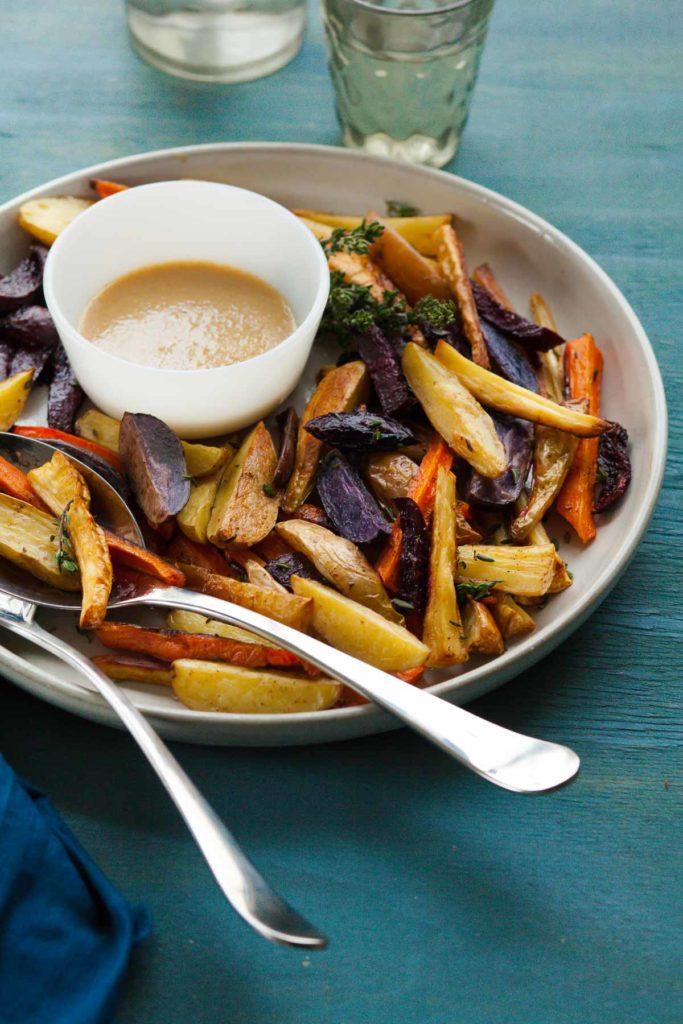Thyme-Roasted-Root-Vegetables-with-Miso-Mustard-Sauce-gourmandeinthekitchen.com_-683x1024.jpg