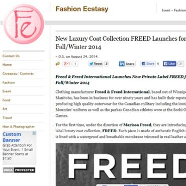 Luxury Coat Collection – Fashion Ecstasy    - Aug 2014