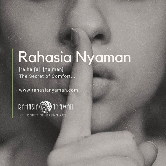 """🌿 Meaning of Rahasia Nyaman ... it's about the concept of """"The Secret of Comfort"""" Rahasia is an old Sanskrit word meaning Secret and Nyaman, in Indonesian, stands for Comfort, Cosy, Healthy 🙏🏽👣 . #healthy #environment #footreflexology #happyfeet #healthyfeet #instituteofhealingarts #rahasianyaman #reflexology #healing #holistichealth #healingtouch #naturalmedicine #whattodoinbali #eventsinbali #workshops #ubudbali #ubudlife #baliadvisor #private #session #ubudbali #balilife #soletosoul #sharingknowledge #knowledge #olfactotherapy #essentialoils #educationpositive #soul #medicinewoman #comfort"""
