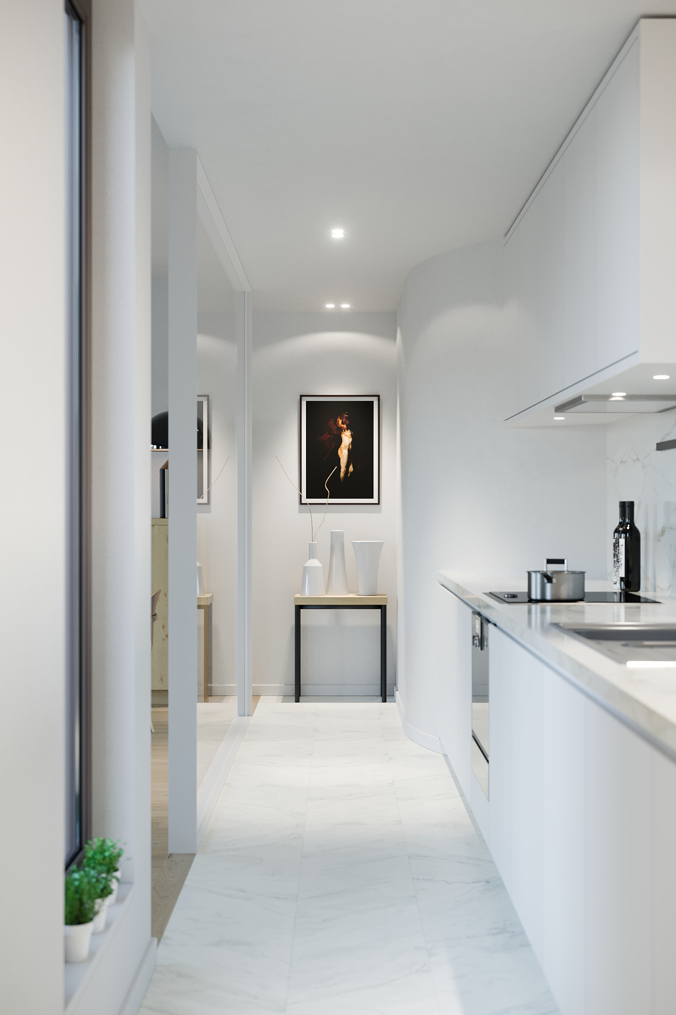 Carmine-Crimson Architectural Visualization Studio, atelier de visualisation architecturale.