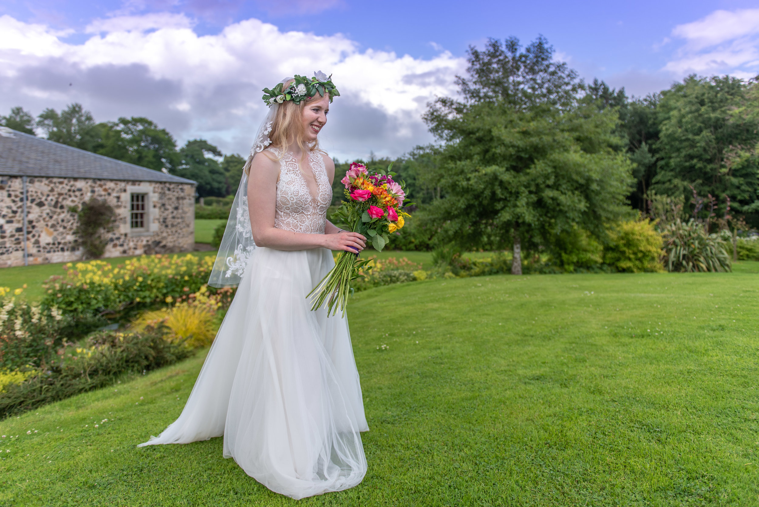Scottish documentary wedding photographer