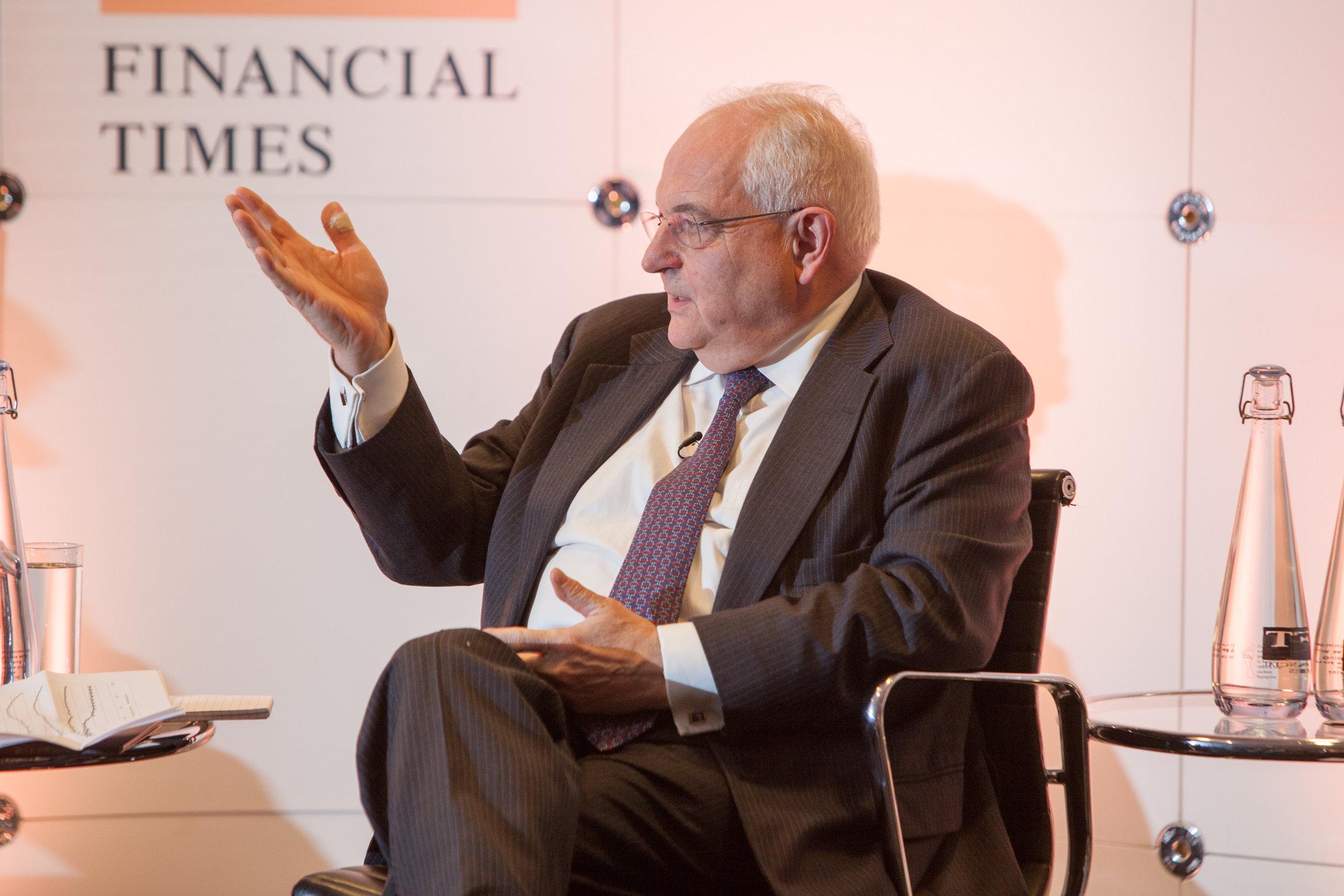 Martin Wolf CBE, Chief Economics Commentator, Financial Times