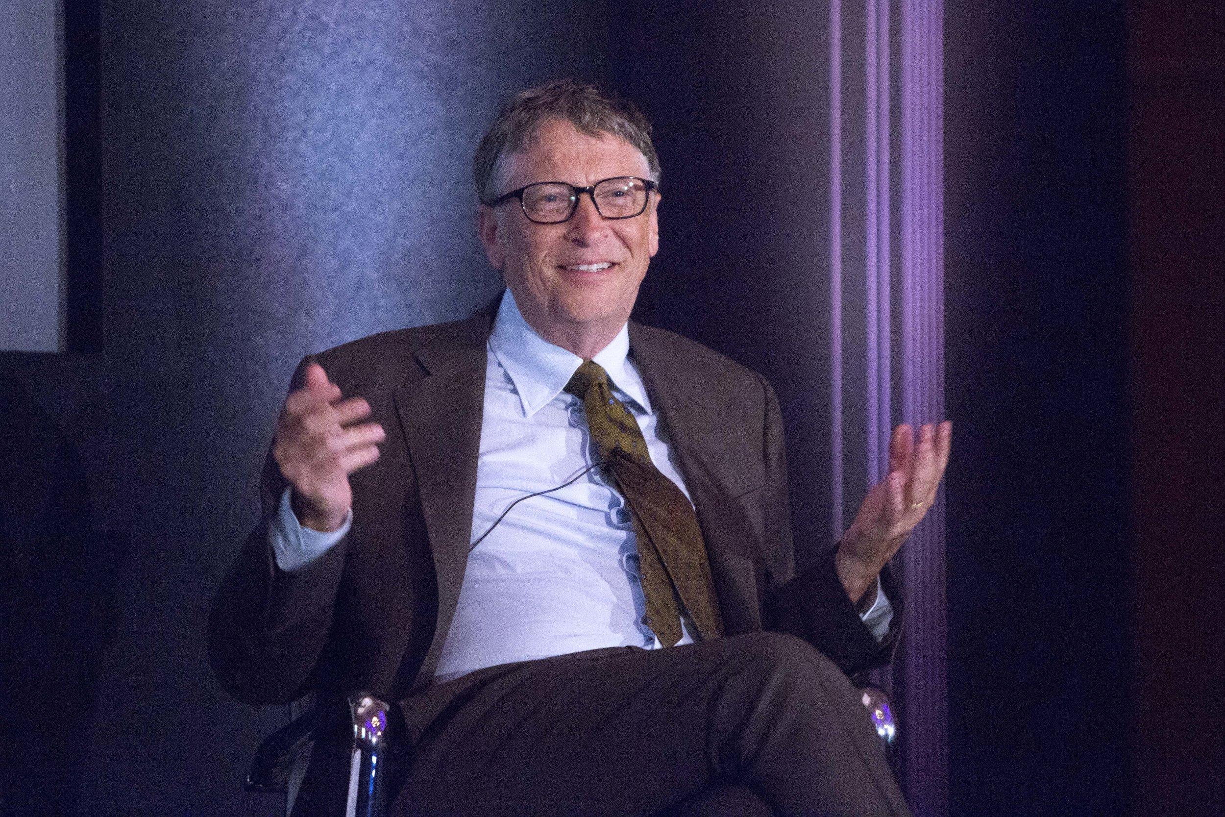 Bill Gates, Co-chair, Bill & Melinda Gates Foundation