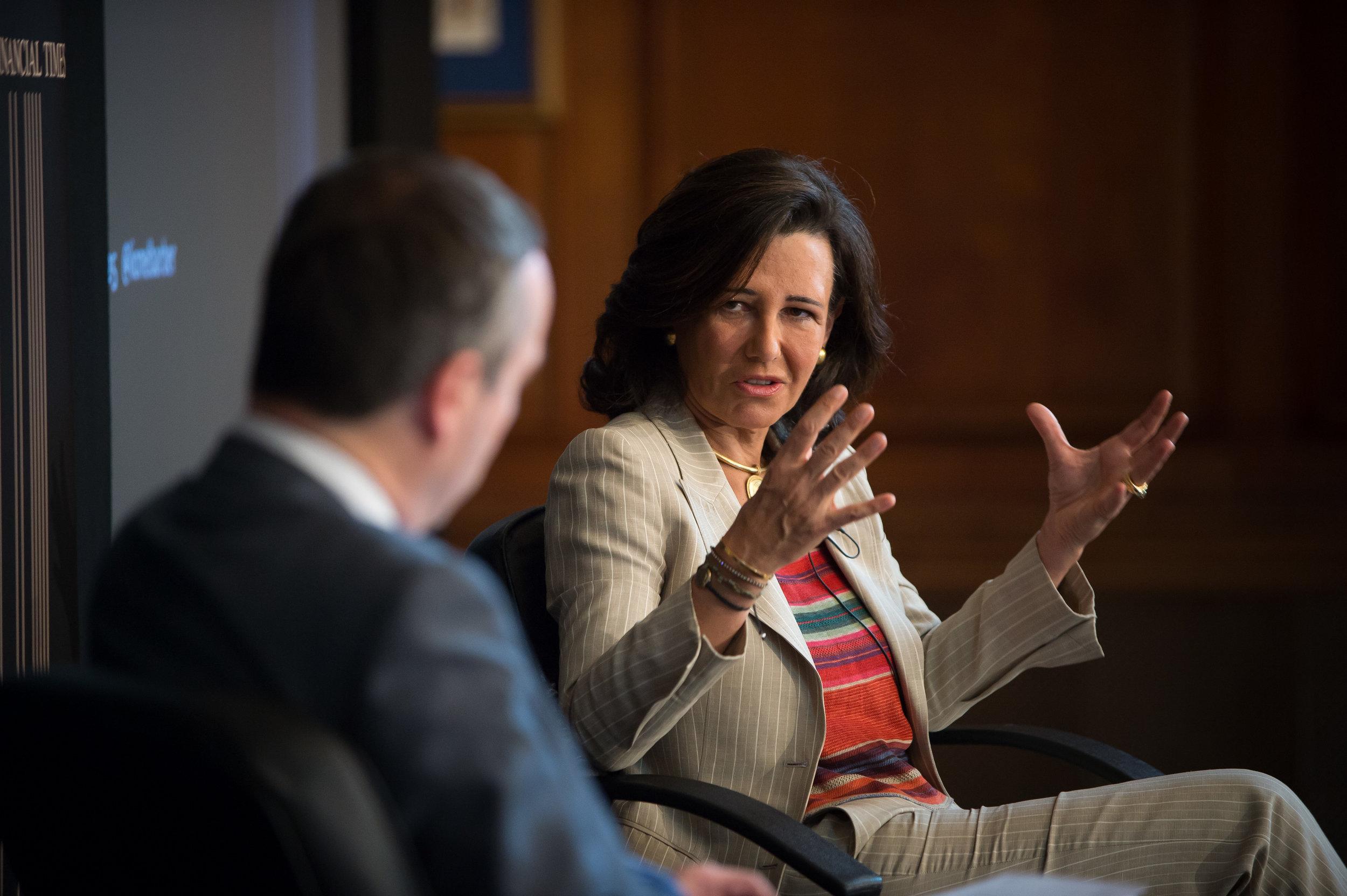 Ana Botín, Group Executive Chairman, Banco Santander