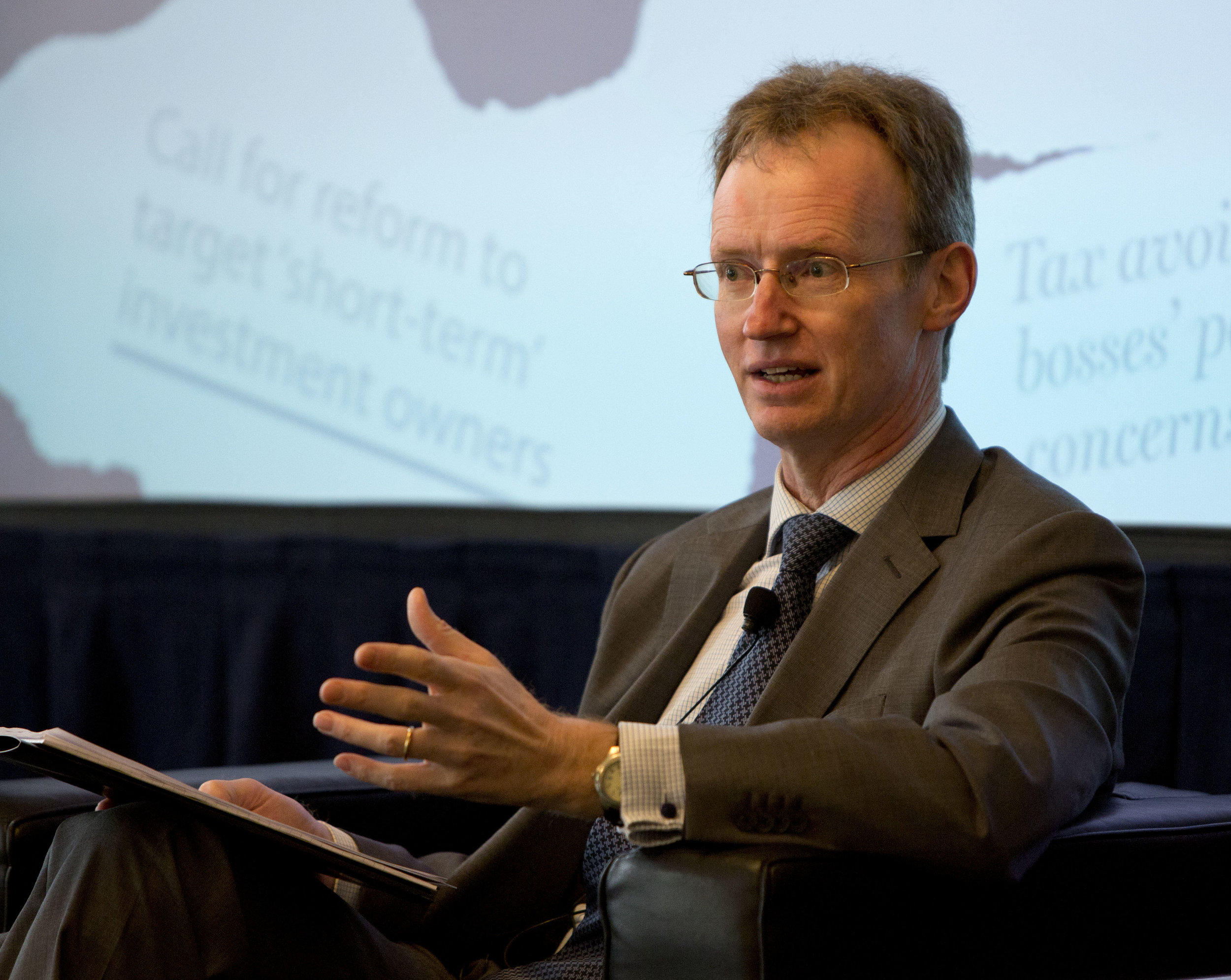 Andrew Hill, Management Editor, Financial Times