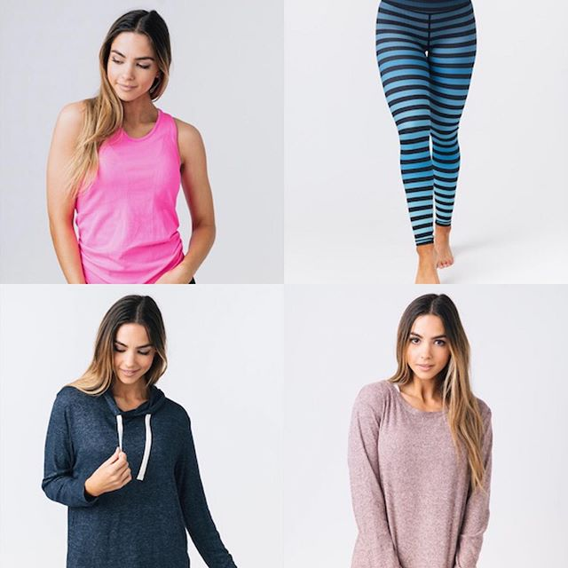 The internet already went down once today with people trying to stock up on #newrelease Wednesday! Shop our favorite activewear in our bio! Don't wait too long and miss out on these LIMITED edition items! • Pink Copper charged tank $31 item #719 Blue Ombré Striped Light n Tights $69 item #1087 Navy boyfriend hoodie $49 item #731 Pink Ash boyfriend sweater $49 item #733 • Don't miss out!! • #athleisure #zyia #zyiaactive #activewear #retailtherapy #fitnessboutique #fitgear #sweatpink #fitness #mainstreetmissfit #strongwomen #leggings
