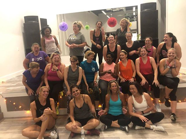 INCREDIBLE night for our first ever #fiestafriday The Music was pumping. The energy was high. The sweat was fierce. The smiles were big.  Way to bring it ladies!! Mark your calendars! This monthly event is coming back Friday, November 8th! . . . . . #girlsnightout #ellicottcity #howardcounty #zumba #mainstreetmissfit #strongwomen #danceparty #missfit #missfitstrong