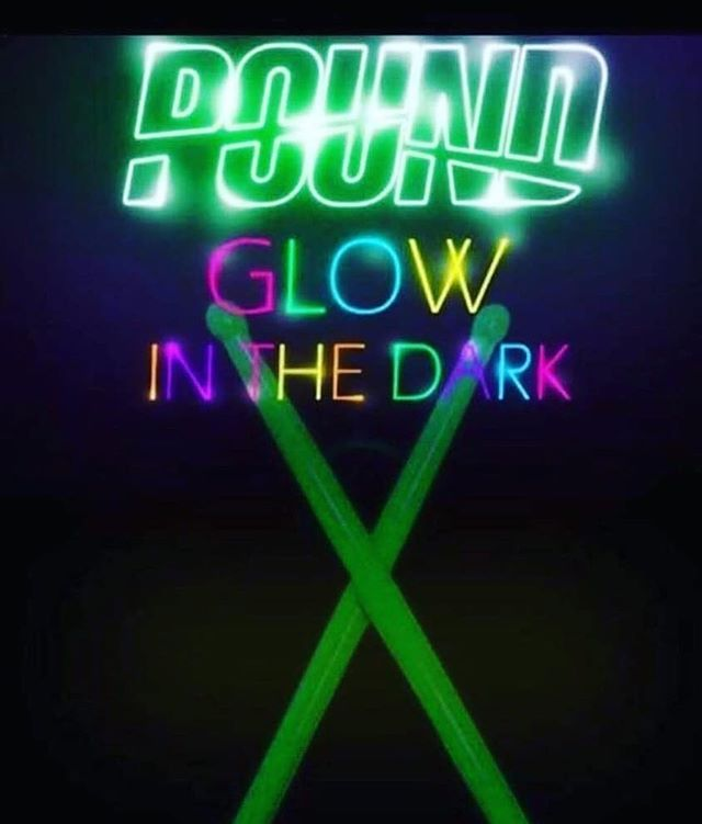 """The POUND team is putting on Miss FIT's first GLOW & Pound event TONIGHT at 5:30pm! You don't want to miss this! ⚡️⚡️⚡️ 💗Wear your best """"glow"""" attire for a chance to win some MissFIT Swag! 💗 Invite your friends (Guest pass is $15) 💗 Bring your inner Rockstar and GLOW!  #missfitellicottcity #groupfitness #pound #rockoutworkout #drummergirl #halloweenedition #glowparty #ELLICOTTCITY #howardcounty #catonsville"""