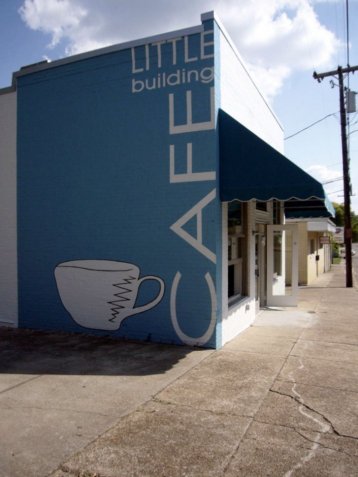 Image Source:  Little Building Cafe