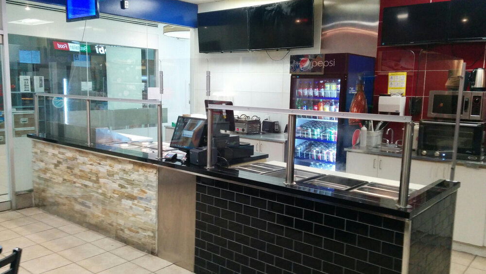 Countertop Shields for Food Service