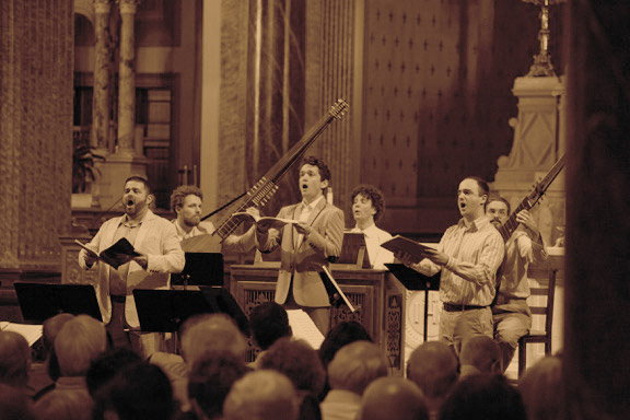 TENET and Ensemble Caprice | May 10, 2020 - The Montreal baed early music ensemble joins forces with TENET vocal artists from New York for this special house concert featuring music composed for a king.