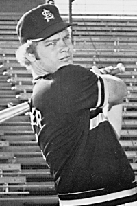 Bob Horner    He played shortstop, second and third, earning All-WAC honors three times. He lead Arizona State to three consecutive College World Series appearances, including the 1977 championship.