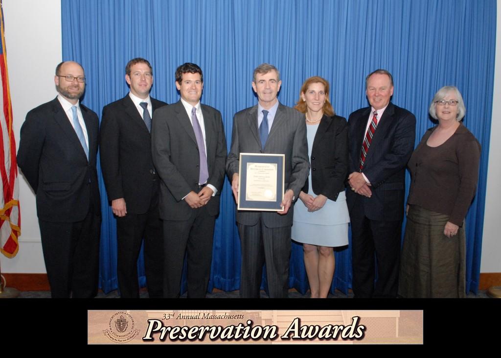 2011 Massachusetts Historic Commission Awards Ceremony