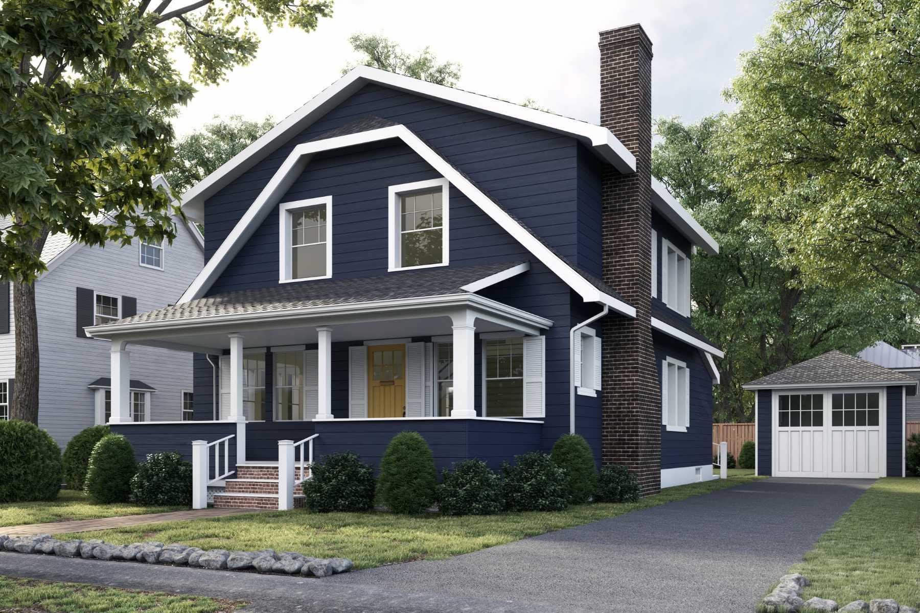 27 Hinckley Road - Gut renovation of single family home near Waban Square, Newton