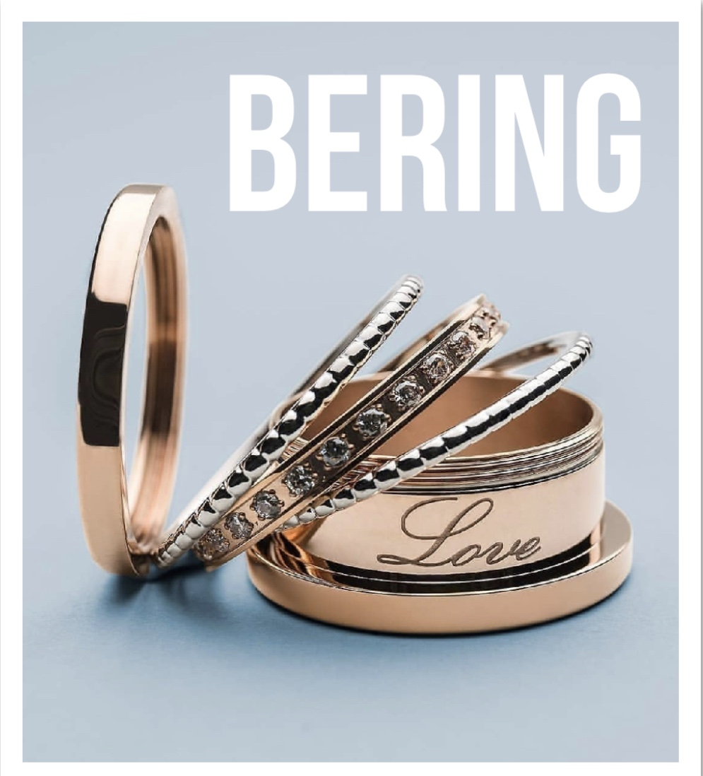 BERING - Stainless Steel infused metals that twist apart to allow to be creative! Come design your own ring today in store!Whole Sizes 7 up to 13Outer Rings from $59.00-$139.00 Inside Rings from $30.00-$60.00
