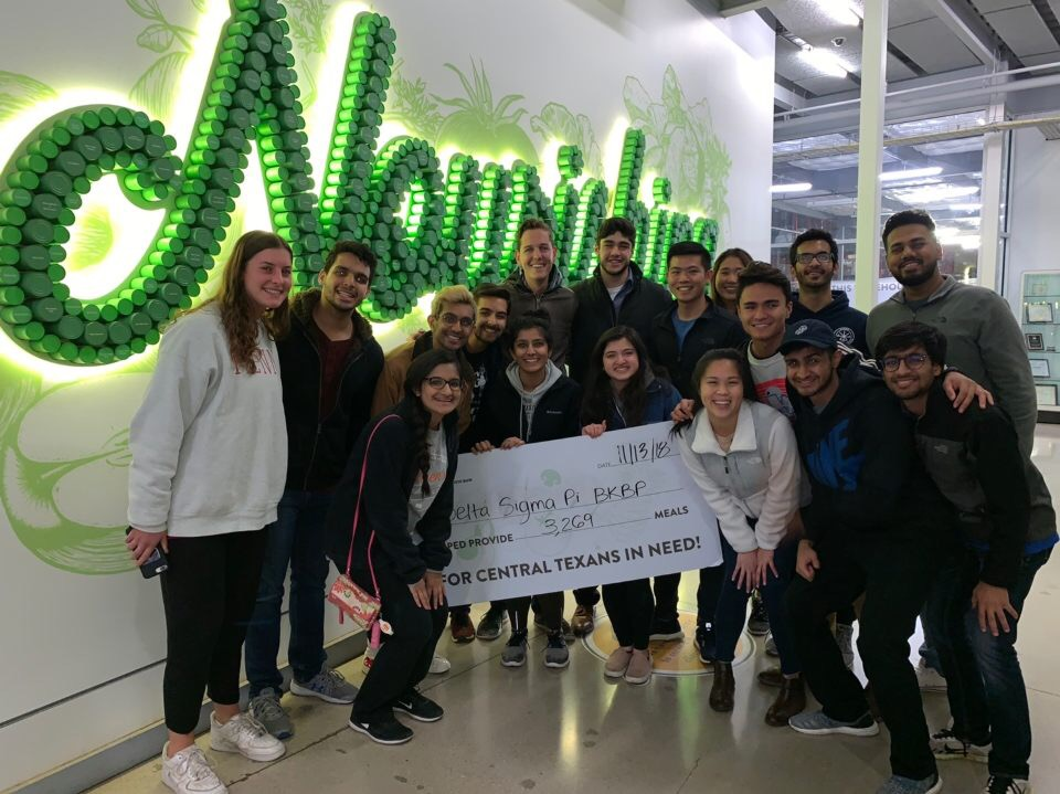 Community Service - Every year, the Beta Kappa chapter contributes thousands of dollars to support charities. Click below to learn more about the difference you can make.