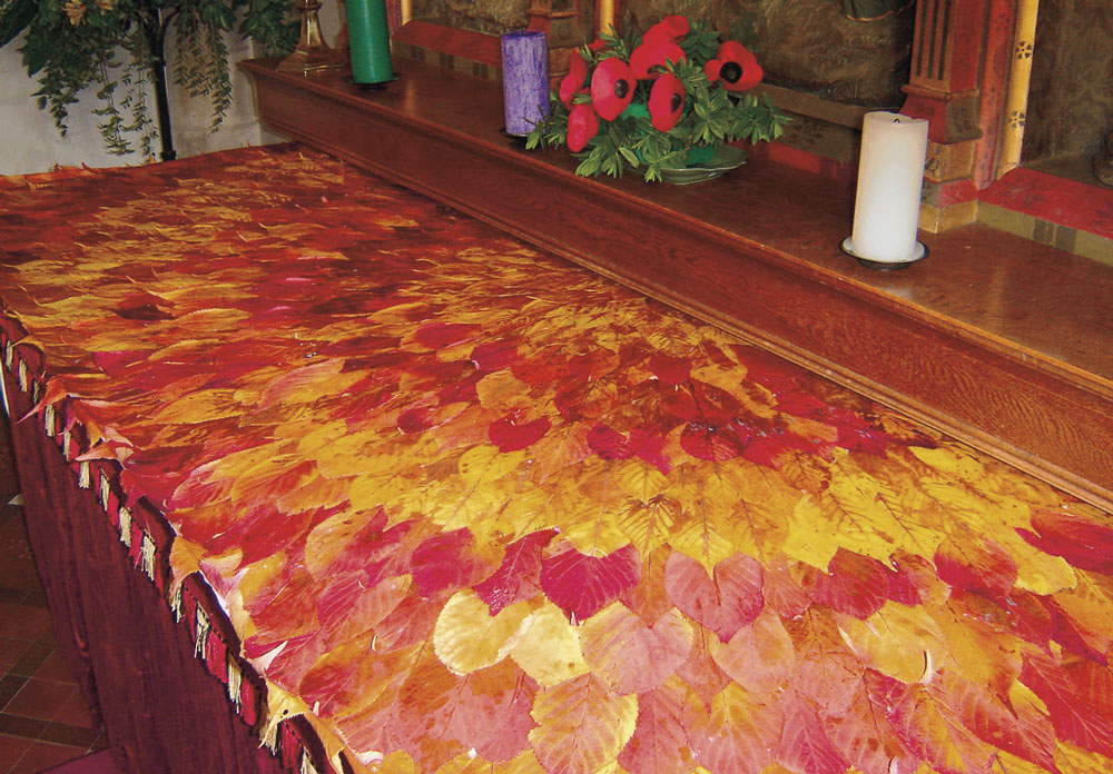Leaves Altar Cloth