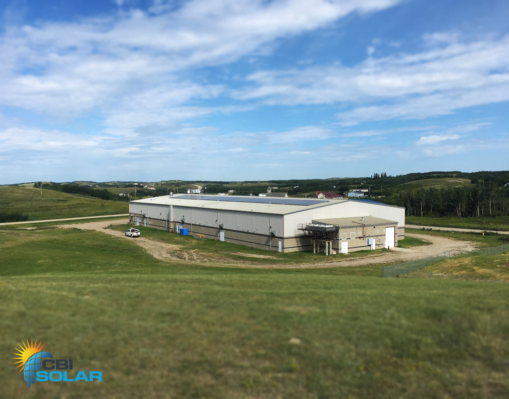MOOSOMIN ARENA - A 74.4 kW system on the Arena at Moosomin First Nation, Saskatchewan.