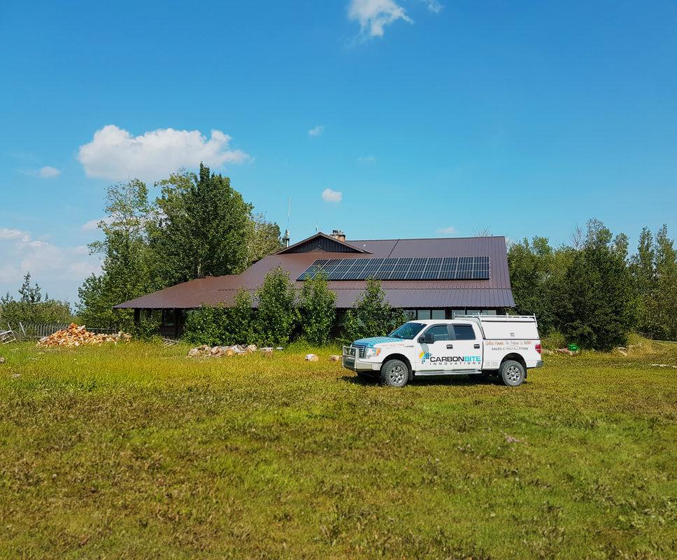RESIDENTIAL - 11.3 kW install by Caroline, Alberta.