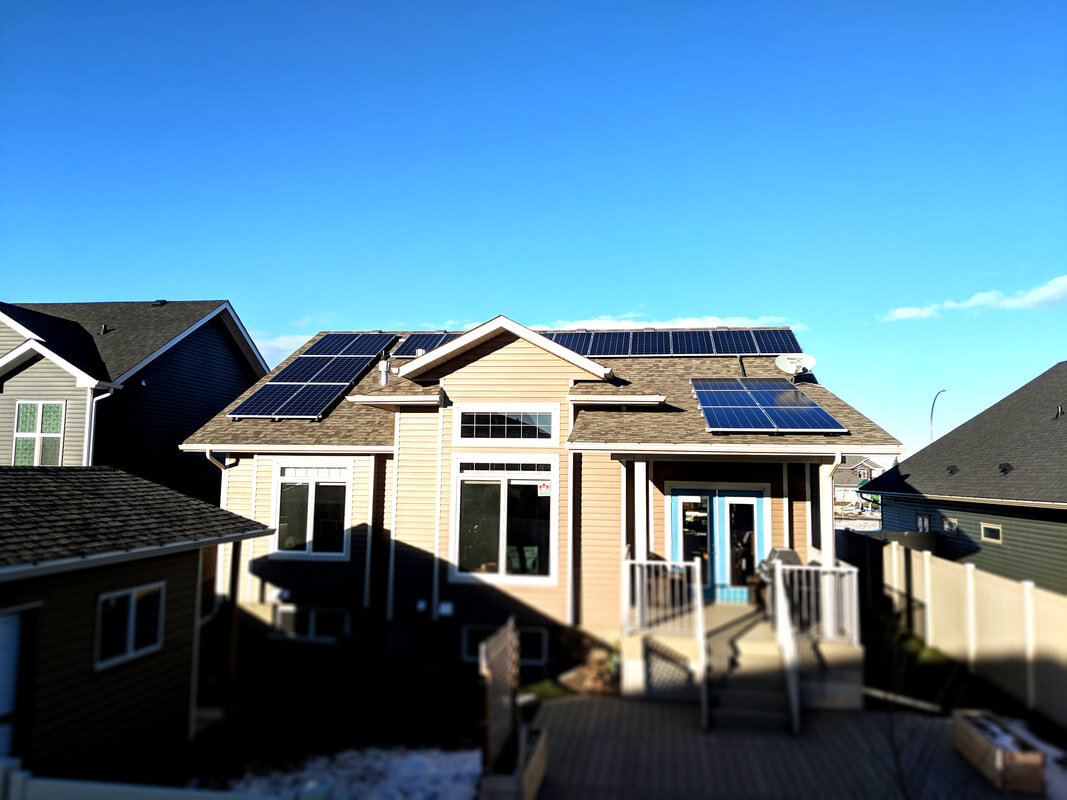 RESIDENTIAL - 7.1 kW install in Lacombe, Alberta.