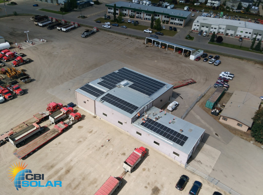 Border Paving - A 78.4 kW system in Red Deer, Alberta