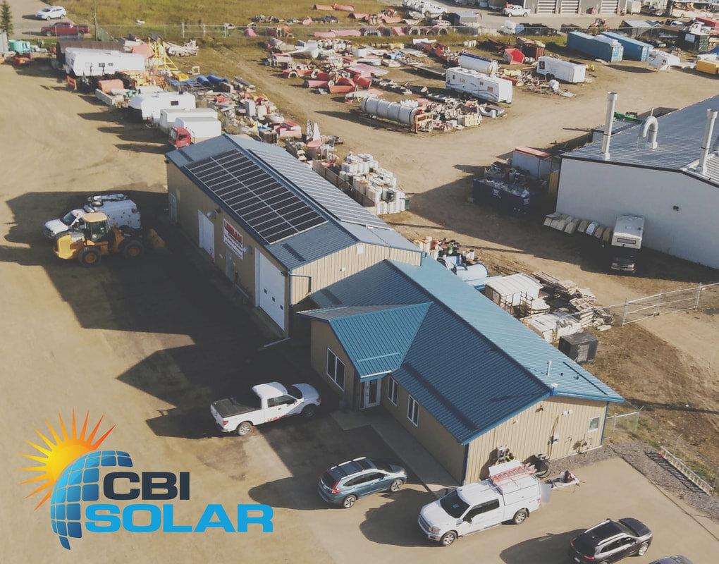 Urban Dirtworks - A 25.6 kW system in Sylvan Lake, Alberta