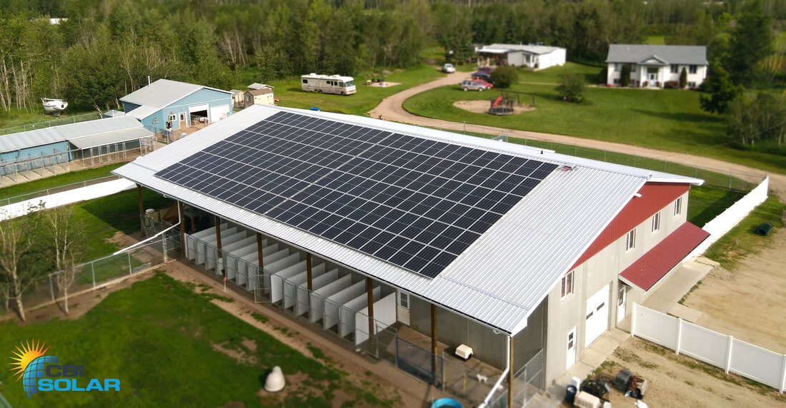 KLASSIC KENNELS - A 60.1 kW system North of Red Deer, Alberta