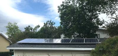 RESIDENTIAL - 1.5 kW install in Calgary, Alberta.