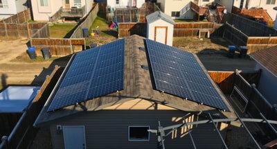 RESIDENTIAL - 8.8 kW install in Sylvan lake, Alberta.