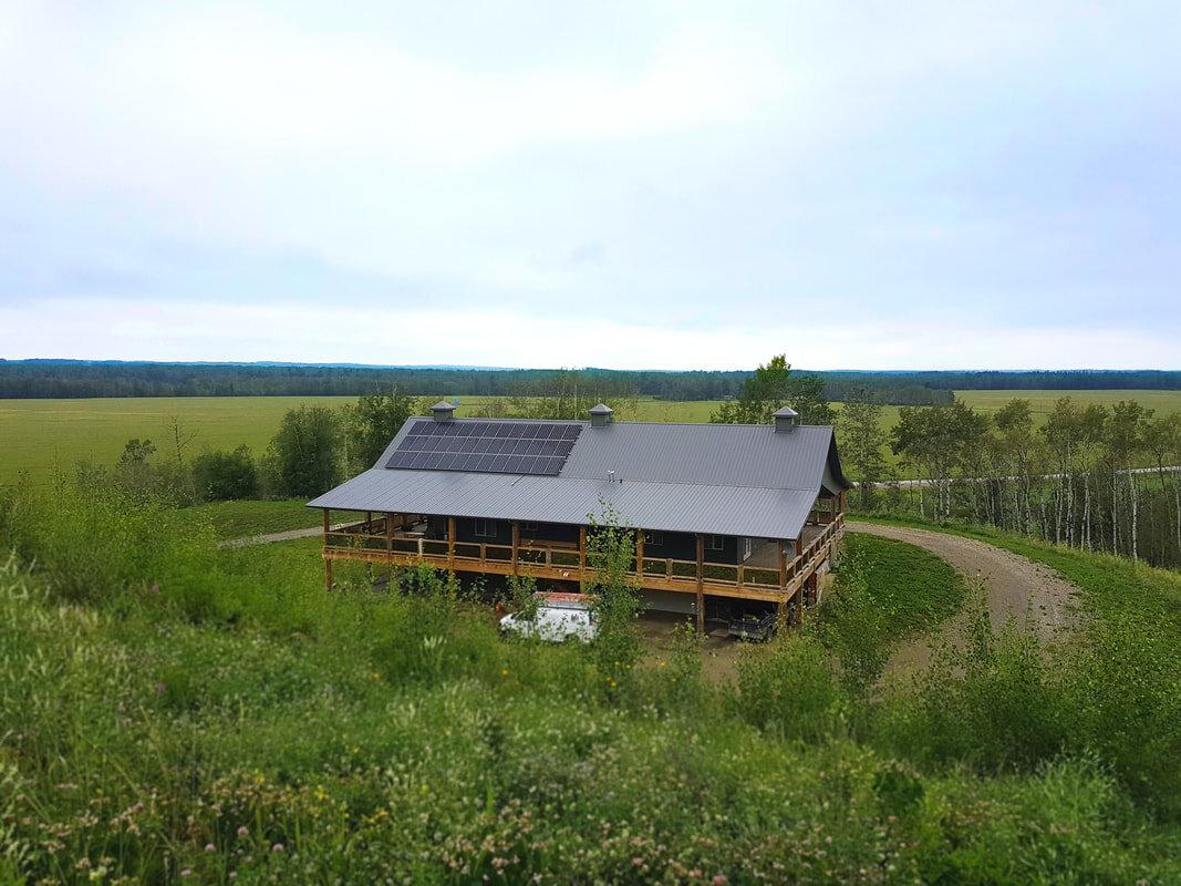 RESIDENTIAL - 12.3 kW install by Caroline, Alberta.