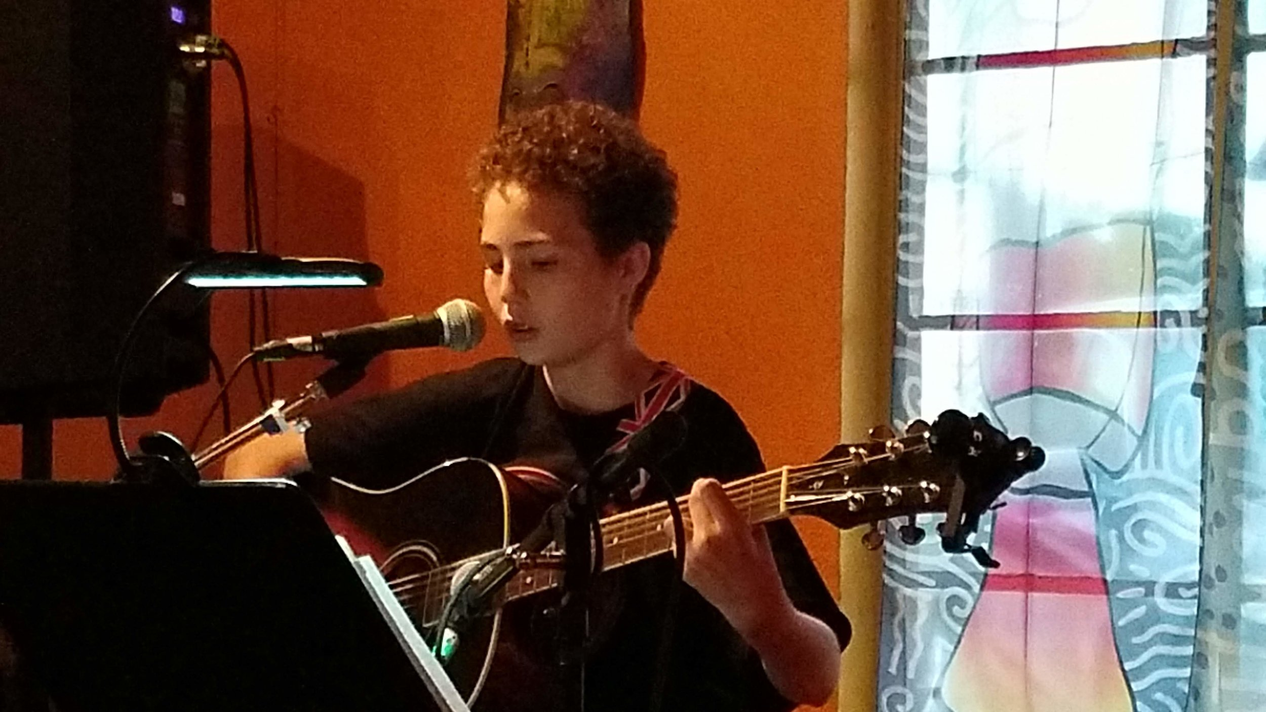 Weekly Open Mic Program - Started in October of 2018, our Open Mic Program provides a weekly opportunity for musicians of any age, ability, experience level, and genre to develop their live performance skills in a safe, appreciative, and supportive environment. Attendance in the first nine months has seen over 500 performances and 2,200 audience members.