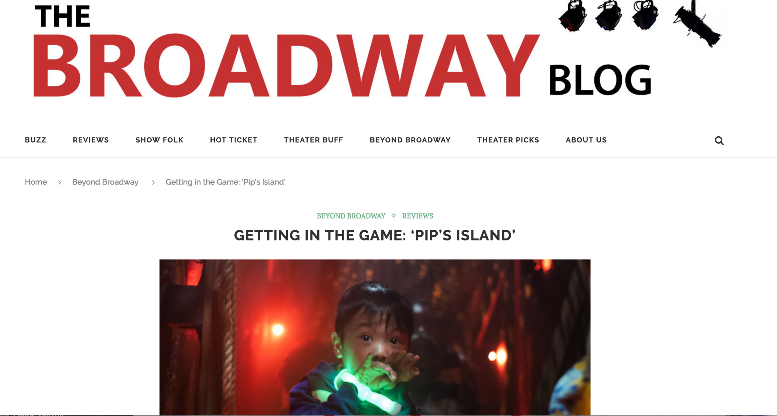 The Broadway Blog
