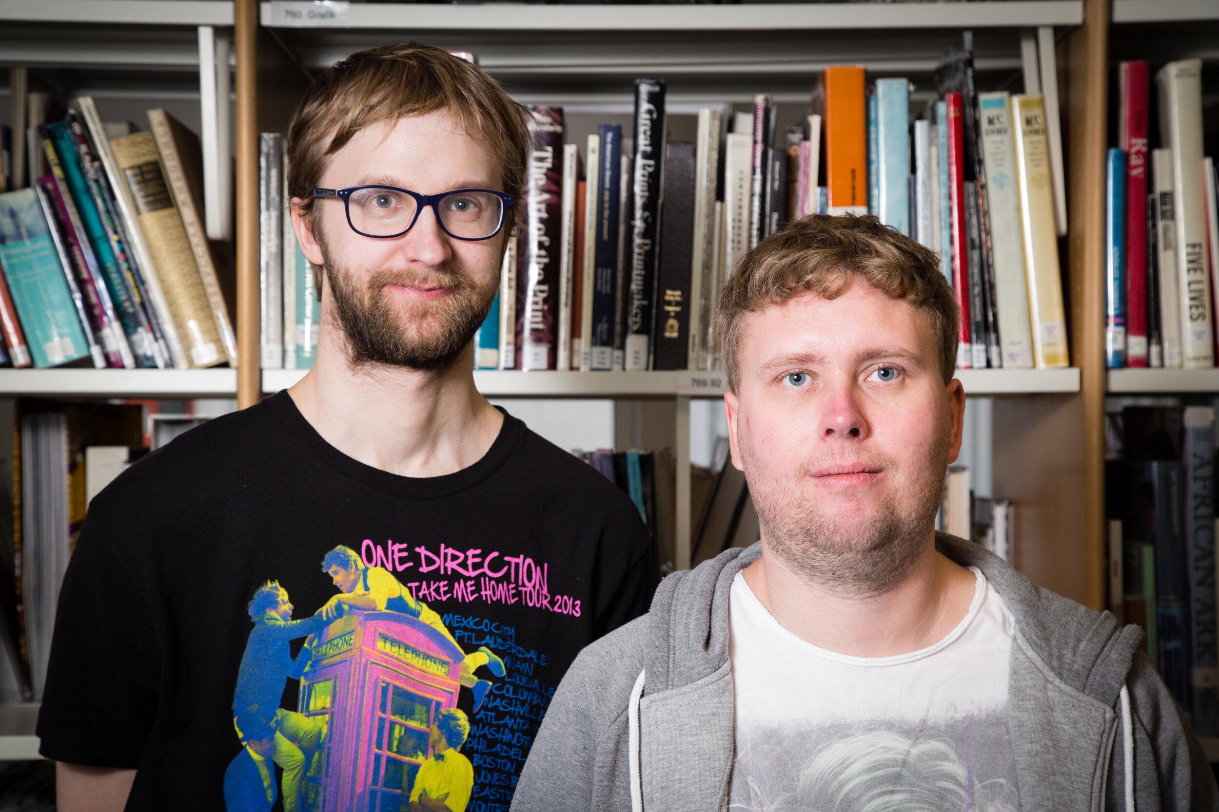 Kolbeinn Magnússon og Sigurður Reynir Ármannsson