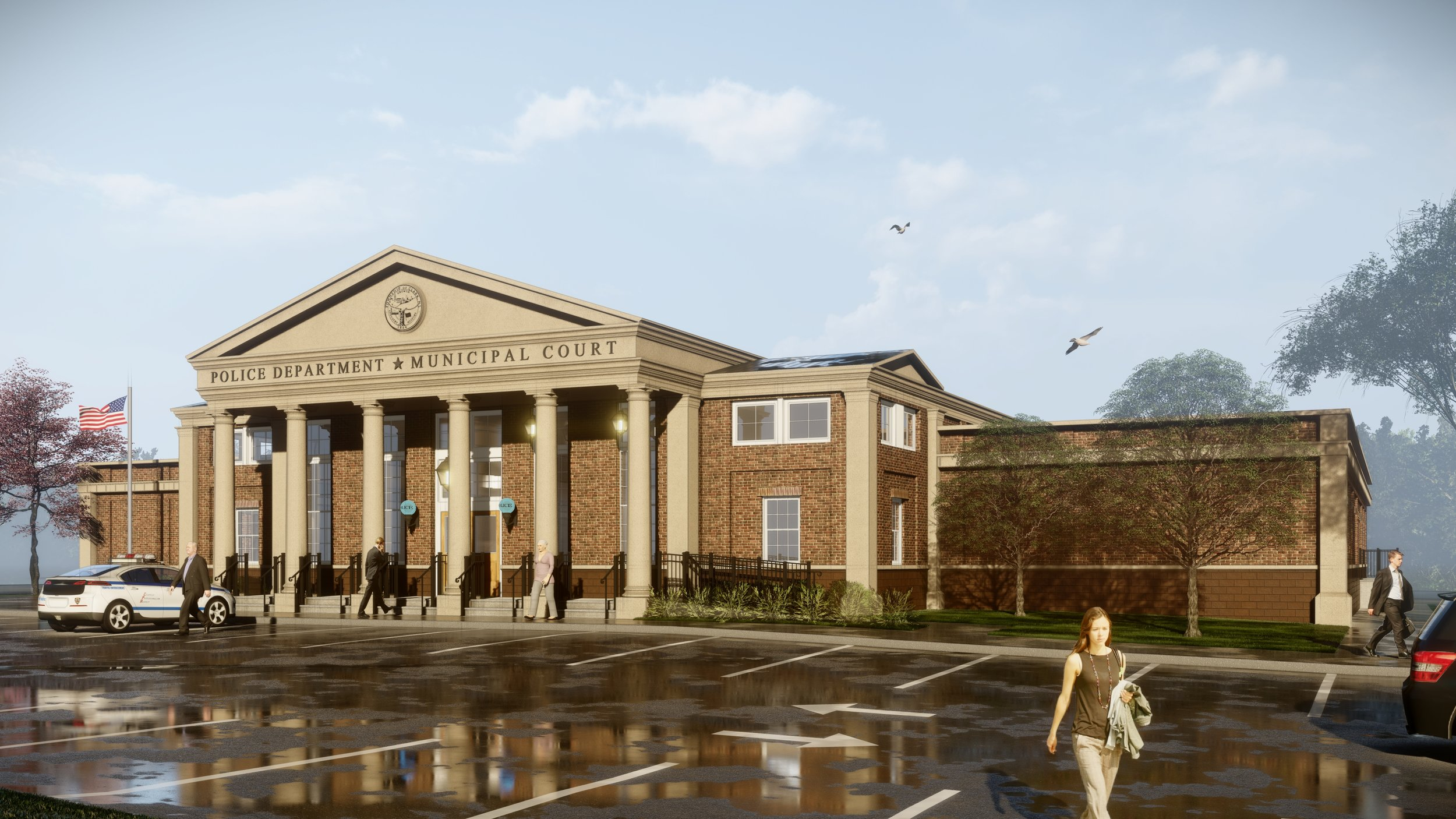 New Clark Township Police Headquarters
