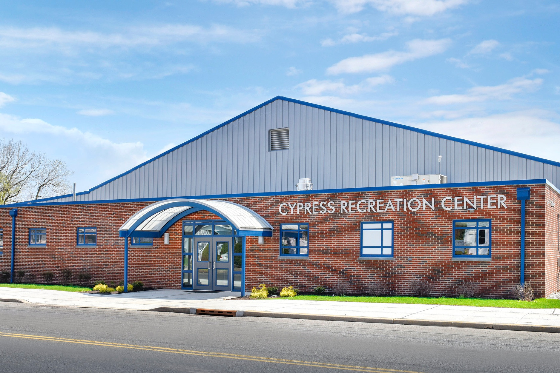 Cypress Recreation Center + Adult Day Care - New Township Recreation Center