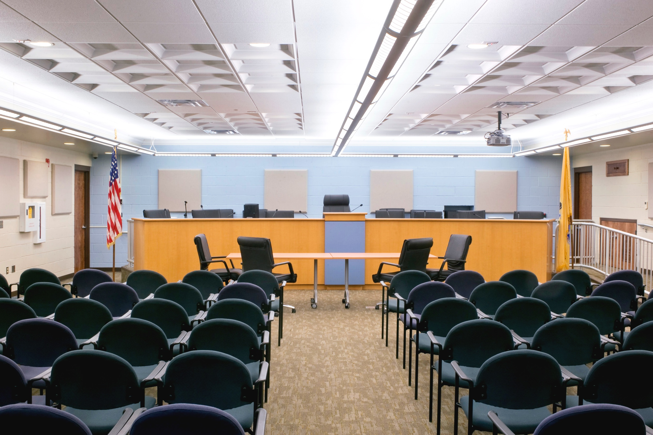 Ocean Township Courthouse+ Council Chambers - Interior Renovations