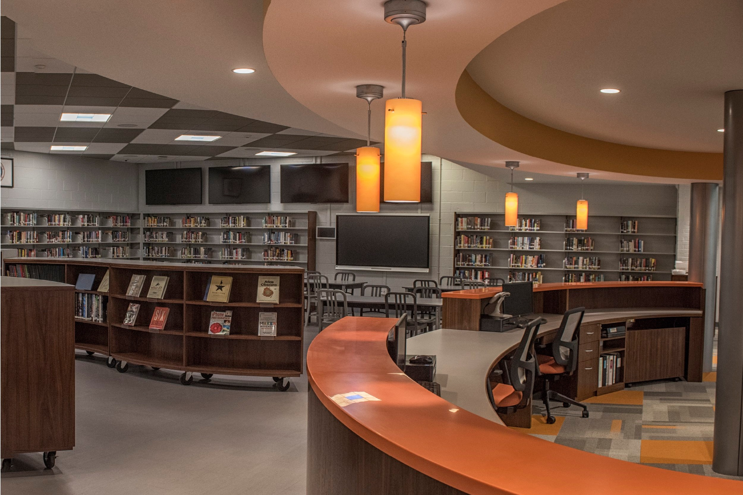 Hackettstown Middle+High School - Media Center Renovations