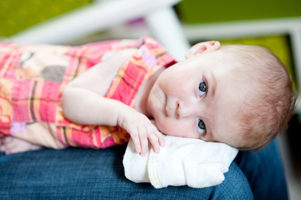 Skylar with Spinal Muscular Atrophy SMA - 7 Months Old