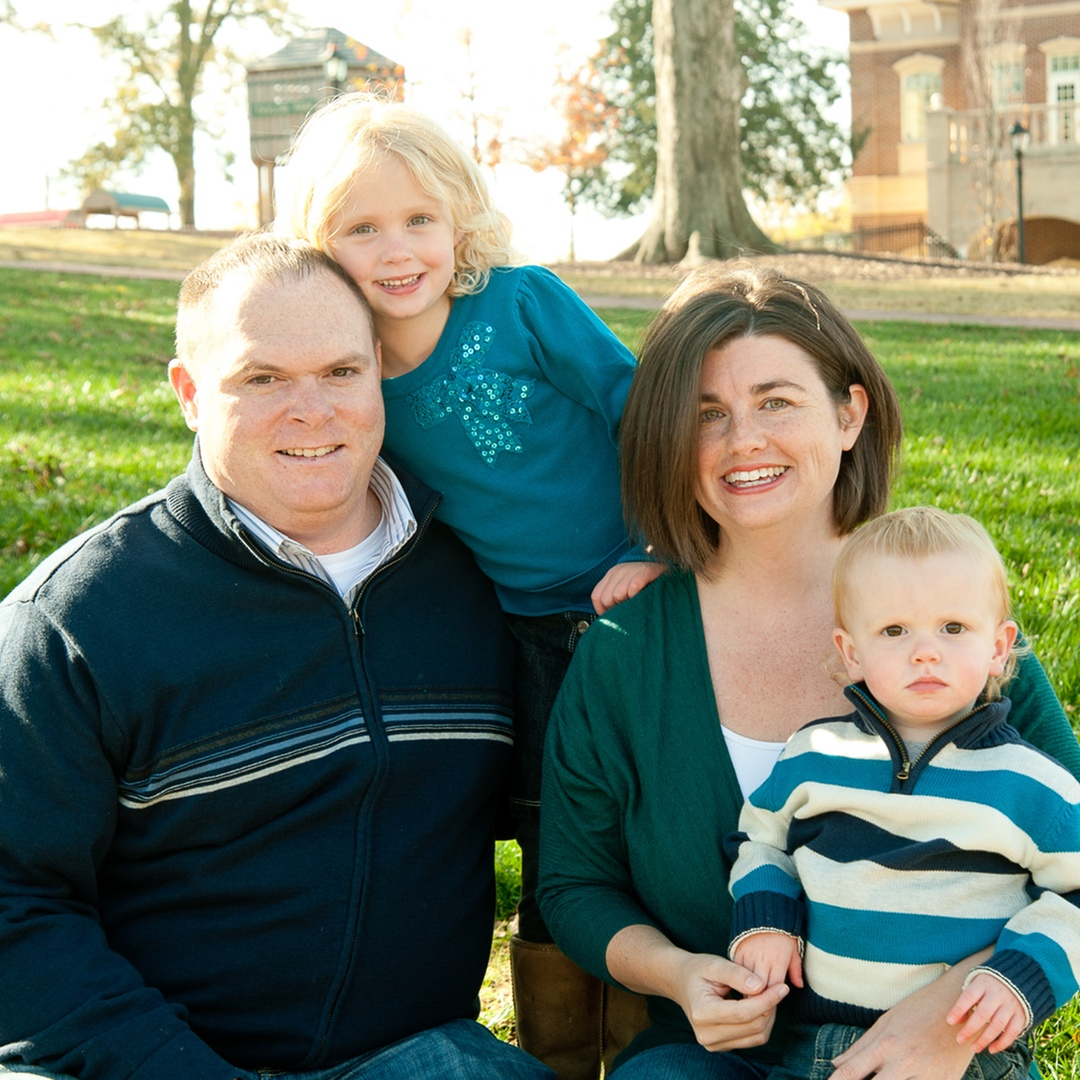 Lackey family picture | Type 1 Diabetes | Bailey's story of hope