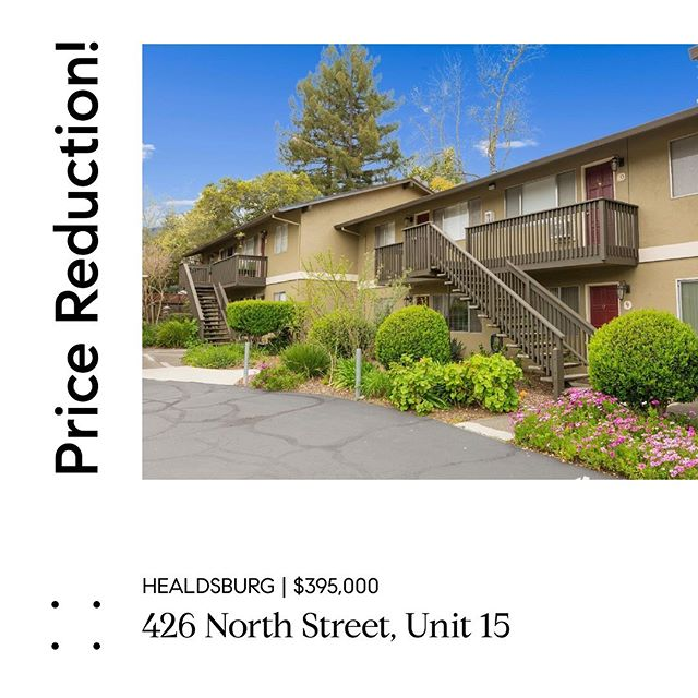 4 Blocks from the Healdsburg Plaza and Affordable!